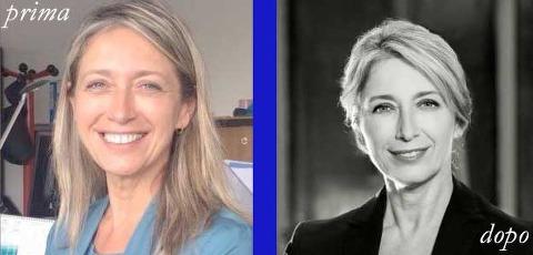 ritratto professionale prima e dopo